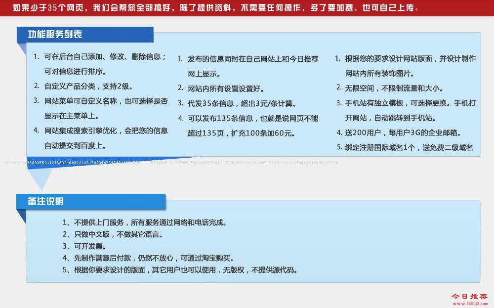 青州网站改版功能列表