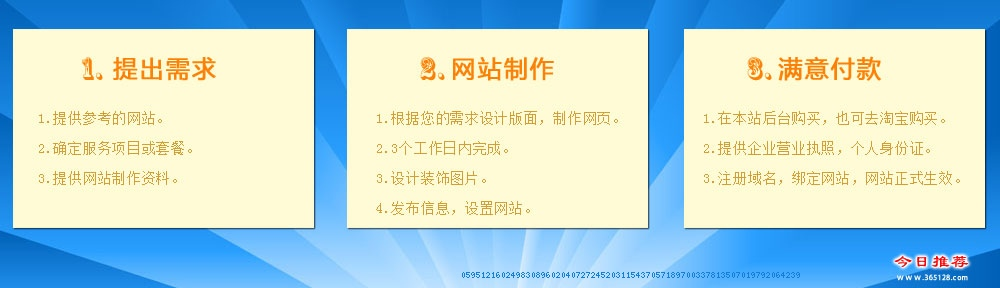 抚顺中小企业建站服务流程