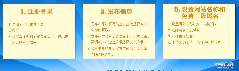 台湾免费网站制作系统服务流程
