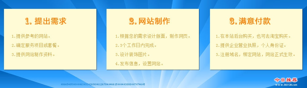 江阴做网站服务流程