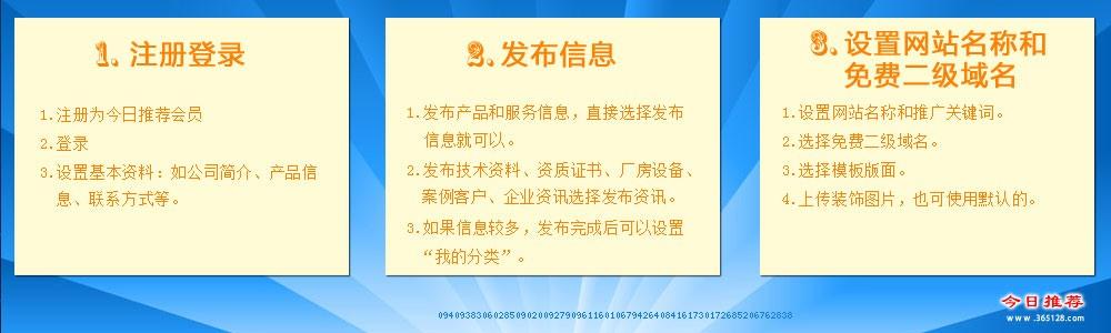 慈溪免费建网站系统服务流程