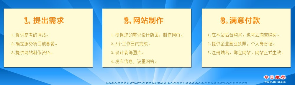 青州手机建网站服务流程